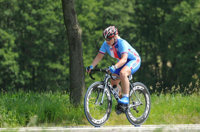 Mistrovství Evropy 2010 - 5 km před cílem
