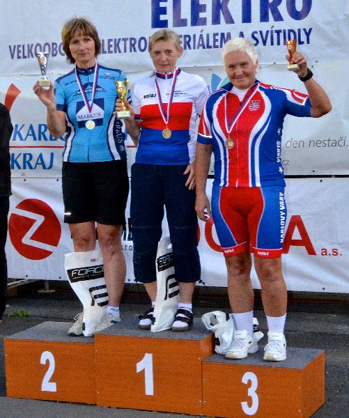 Mistrovství republiky Masters v časovce jednotlivců Sokolov 2016 - 3. místo
